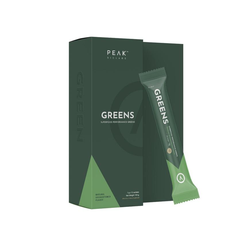 PEAK GREENS Natural